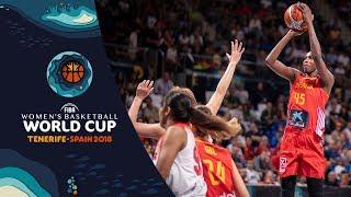 Japan v Spain - Highlights - FIBA Women