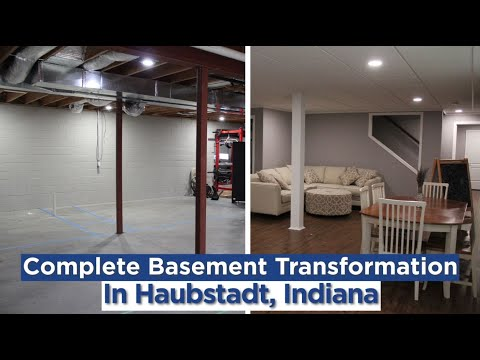 Finished Basement Haubstadt, IN