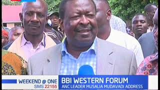 BBI Western Forum: Musalia Mudavadi and Moses Wetangula address the BBI Report