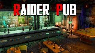 Fallout 4 Settlement Build: Raider Pub
