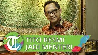 Tito Karnavian Kini Resmi Jadi Menteri Dalam Negeri