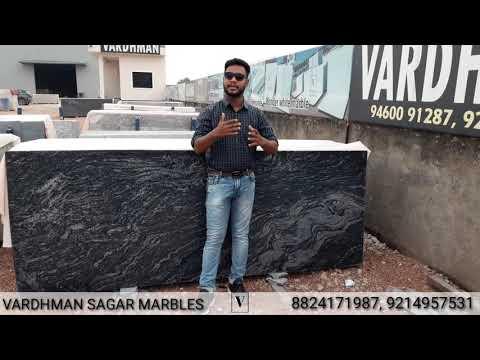 Vardhman Black Marquino Granite