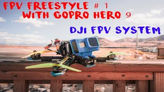 FPV FreeStyle With GoPro Hero 9 - One Pack