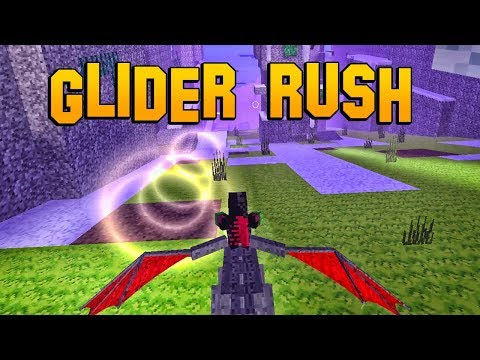 Glider Rush (Evil Dragon) - PixEl Gun 3D (nEW mINi Game)