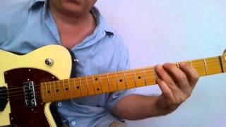 Guitar Lesson - Waitin' on a Woman Solo (Brad Paisley)