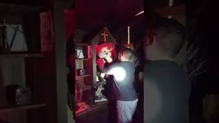 Moving of the Annabelle Doll 22/02/17