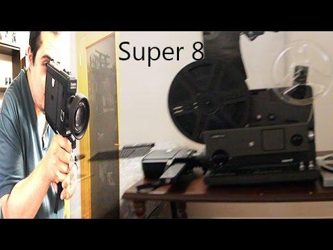 Spiegazione proiettore super 8 e come caricare le pellicole PUNTATA 2