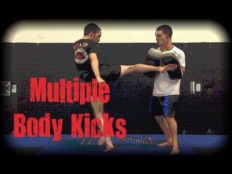 Muay Thai - How to Properly Throw Multiple Body Kicks