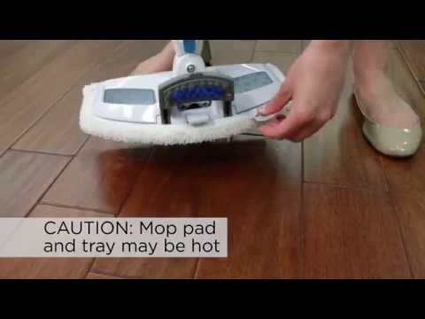 PowerFresh Lift-Off Steam Mop Pet - How to Use
