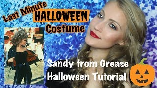 Last Minute Halloween Costume/Sandy From Grease