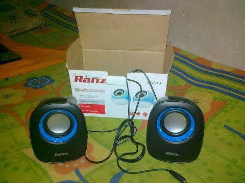 Ranz mini portable usb speaker unboxing review and sound test