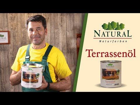 Terrassendielen ölen - Holzterrasse streichen: Anleitung für Natural Terrassenöl