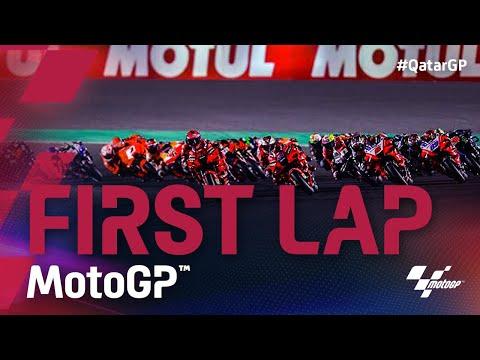 MotoGP 2021 第1戦カタールGP 決勝レースのスタート直後のレース動画