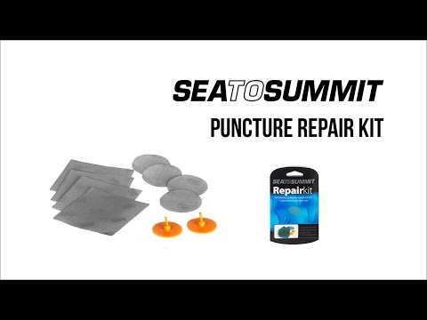 Instruction video for Sea To Summit Puncture Repair Kit