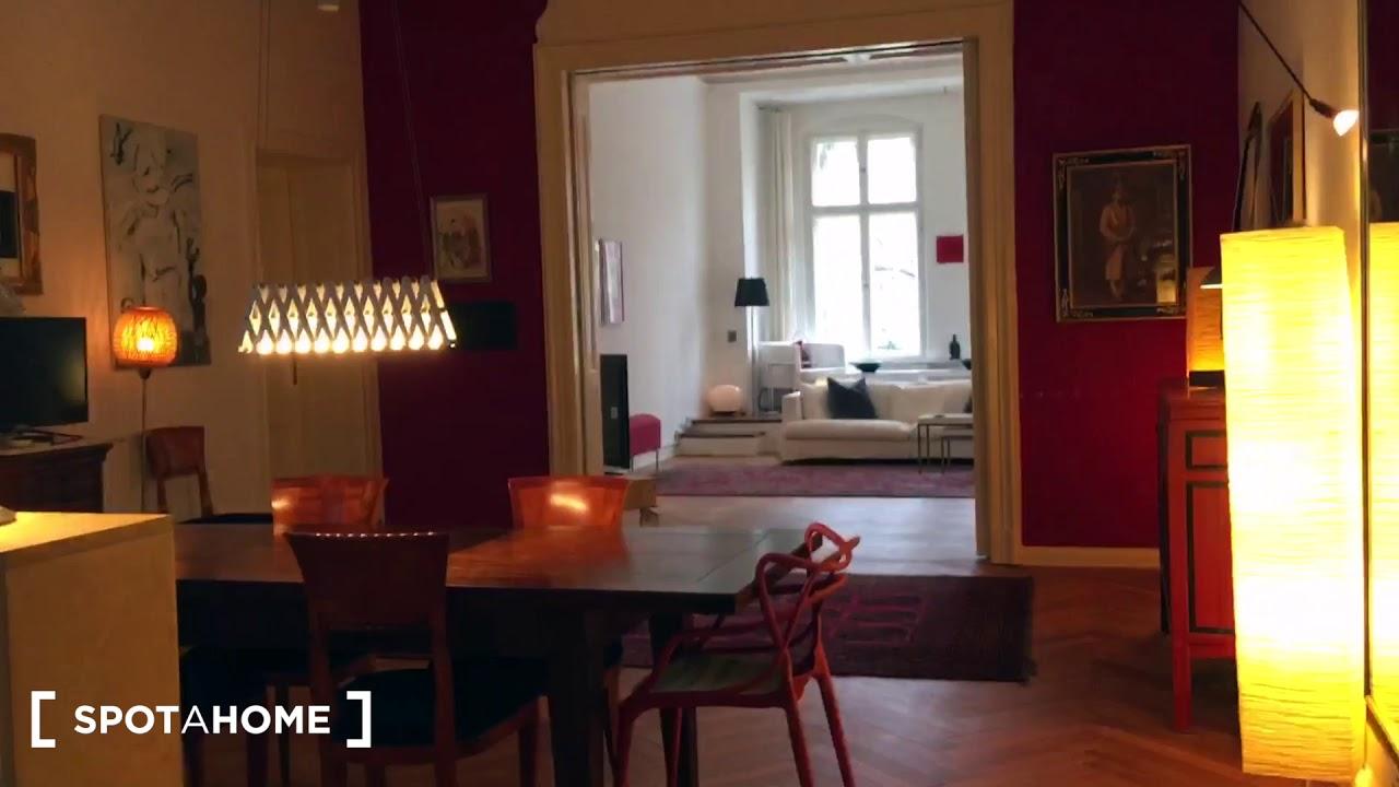 Stunning apartment with 2 bedrooms for rent in Tempelhof- Schöneberg