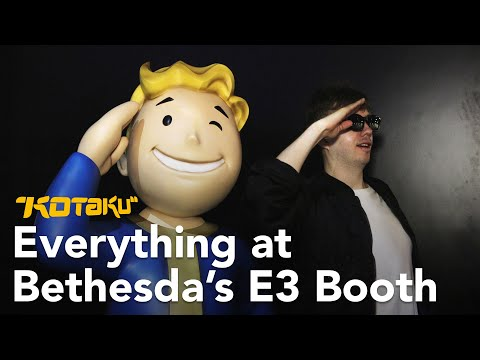 Fallout 76, Doom Eternal, And Everything Else At Bethesda's E3 Booth