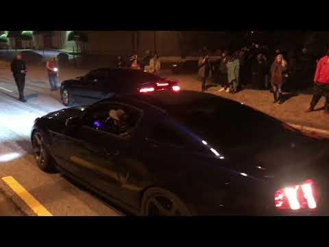 STREET DEMONS SHOOTOUT ATL & CORVETTE HAS A REAL CLOSE CALL