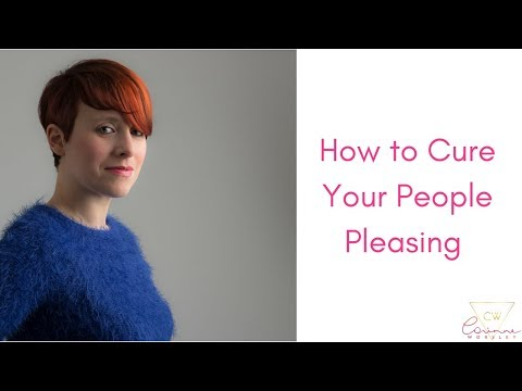 How to cure your people pleasing.