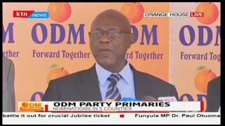 ODM Sec. Gen. Dr. Agnes Zani addresses public over ongoing party primaries