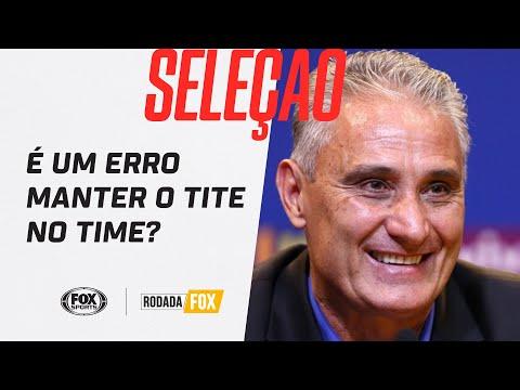 É UM ERRO MANTER O TITE NA SELEÇÃO? Rodada Fox debate após vitória contra a Venezuela