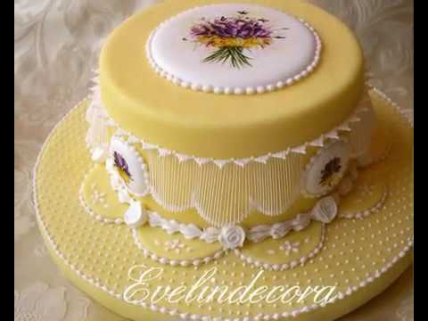 Video Cake Icing Using Sweetened Condensed Milk