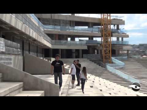 Por dentro das obras da Arena Corinthians - Sobre o gramado e a cobertura