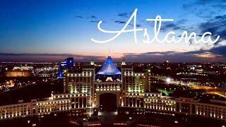 VLOG: Вечерняя Астана. Прогулка на закате.