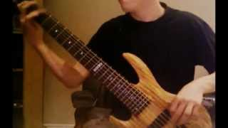 Aborted - Sanguine Verses (...Of Extirpation) // [BASS COVER]