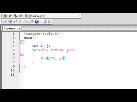C Programming Tutorial – 42: Finding Prime Numbers