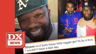 50 Cent Says He Wouldn't Care If His Son Marquise Jackson Got Hit By A Bus