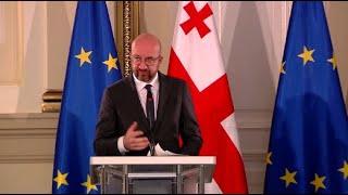 კრიზისის დასაძლევად ევროკავშირი აქტიურად იმუშავებს - შარლ მიშელის დაპირება გაერთიანებულ ოპოზიციას