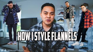How To Style Flannels, My TOP 5 Ways! (Forever 21, H&M, Pacsun, Mnml.la)