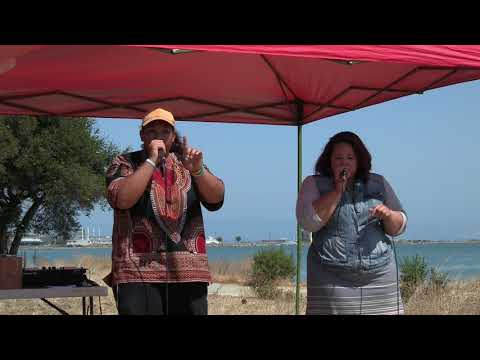 Harmony + Sydonia Moses @ Quiet Lightning / Poetry in Parks 2017