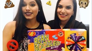 EVIL BEANS   Bean Boozled Challenge ft LilyBeauty   Dog Food , Rotton Egg , Barf  
