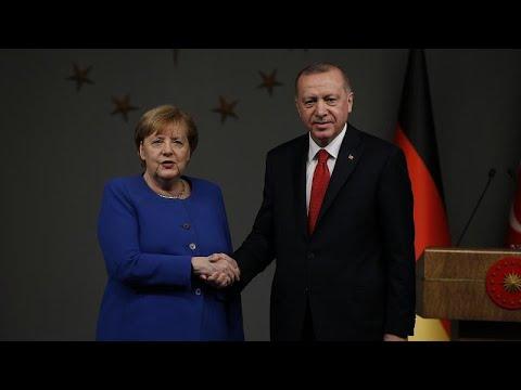 Η συνάντηση Ερντογάν – Μέρκελ στην Τουρκία