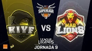 KIYF VS MAD LIONS | Superliga Orange J09 | Partido 2 | Split Verano [2018]