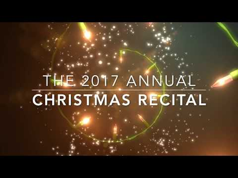 2017 Annual Christmas Recital Introductory Clip featuring some of our awesome students!