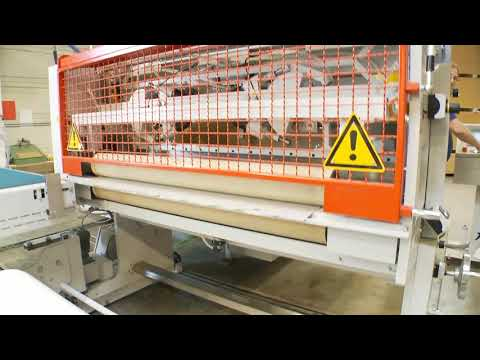 buerkle movie laminating line PUR spacewall