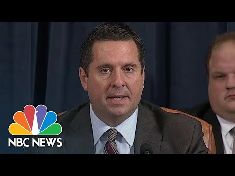 Nunes Opening Statement: 'Welcome Back To Act II Of Today's Circus' | NBC News
