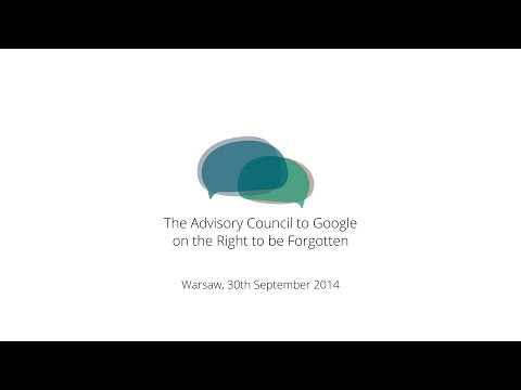 Advisory Council Meeting, 30 September 2014, Warsaw