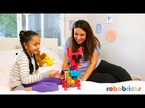 Robobricks : Inspiring STEM stories brick by brick!
