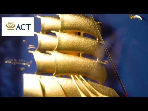 Tranh Thuyền Thuận buồm xuôi gió CNC (25 x 32 cm)