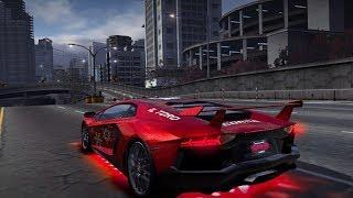 NFS World Lamborghini Aventador Ultra Vs Mclaren F1 HD