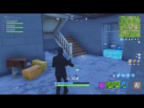 Secret Underground Lair in Salty Springs?