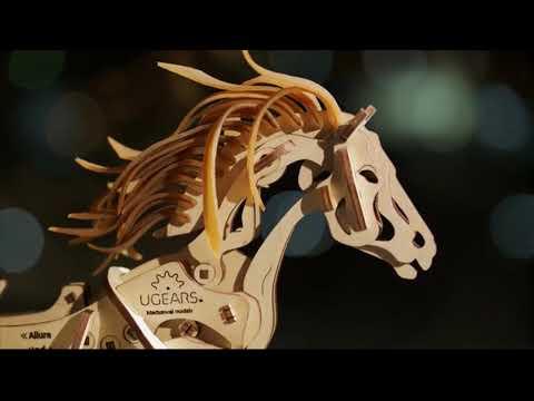 UGears Horse Mechanoid Video