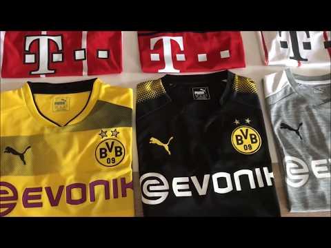 Bundesliga Trikots 2018 - Borussia Dortmund / Bayern München