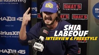 #1 MC In Hollywood: Shia LaBeouf Freestyles 5 Fingers Of Death With Oswin Benjamin | Sway's Universe