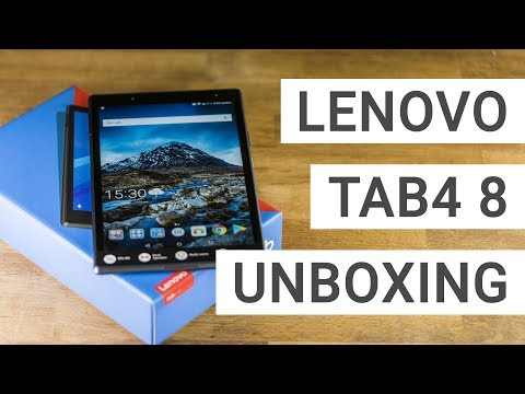 Lenovo Tab 4 8 Unboxing: How good is this 129$ tablet?