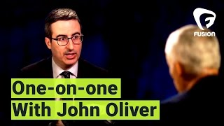 "John Oliver to Jorge Ramos: ""I'm not a journalist"""