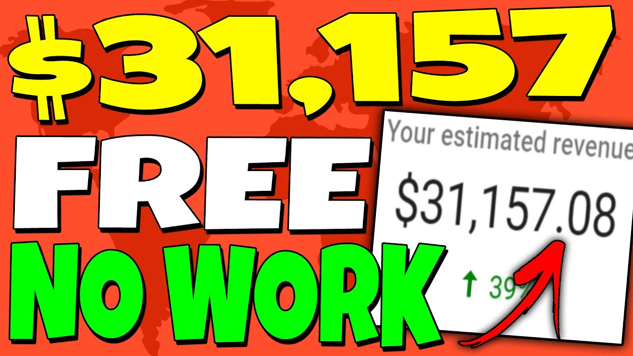 EARN $31,157 For FREE With NO Work! (NEW METHOD) Make Money Online! thumbnail